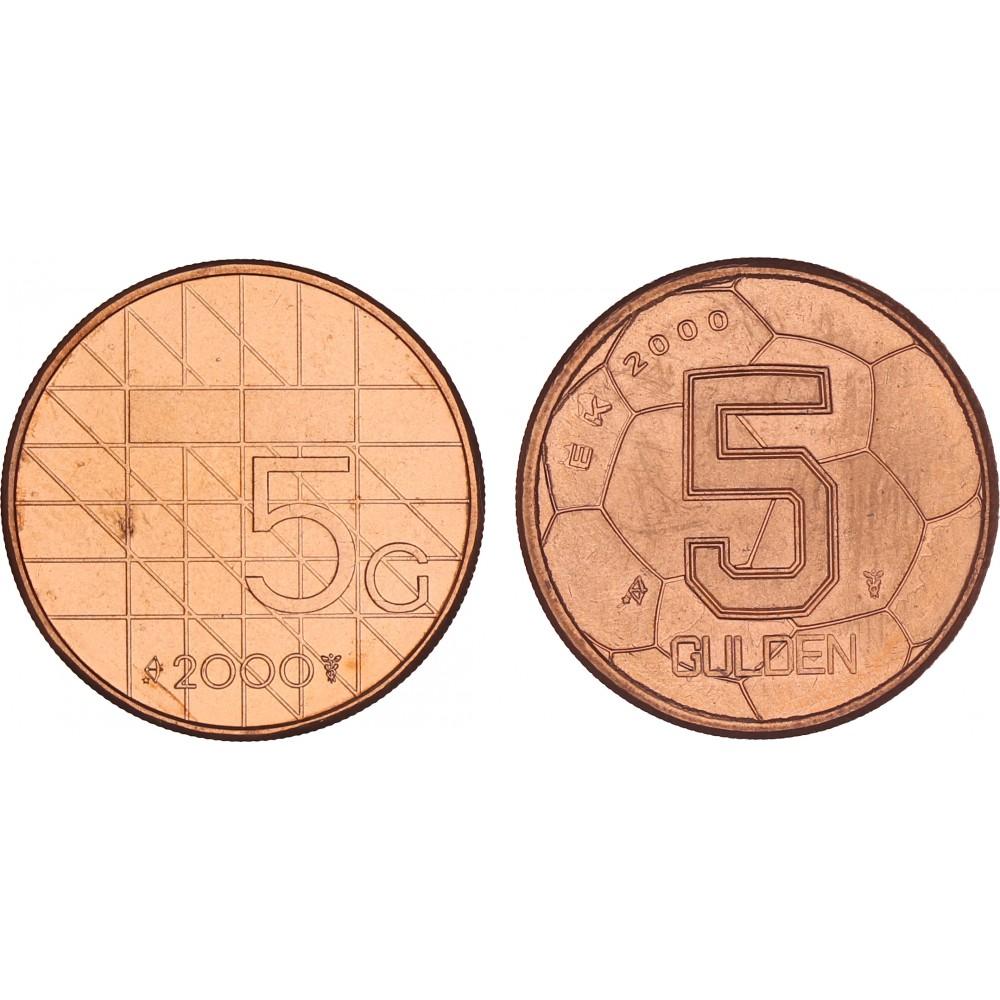 De 5 gulden in 2 types