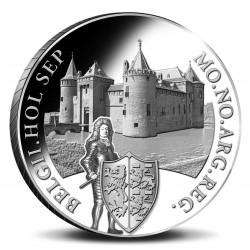Koninkrijksmunten Nederland Zilveren dukaat 2020 'Kasteel Muiderslot'