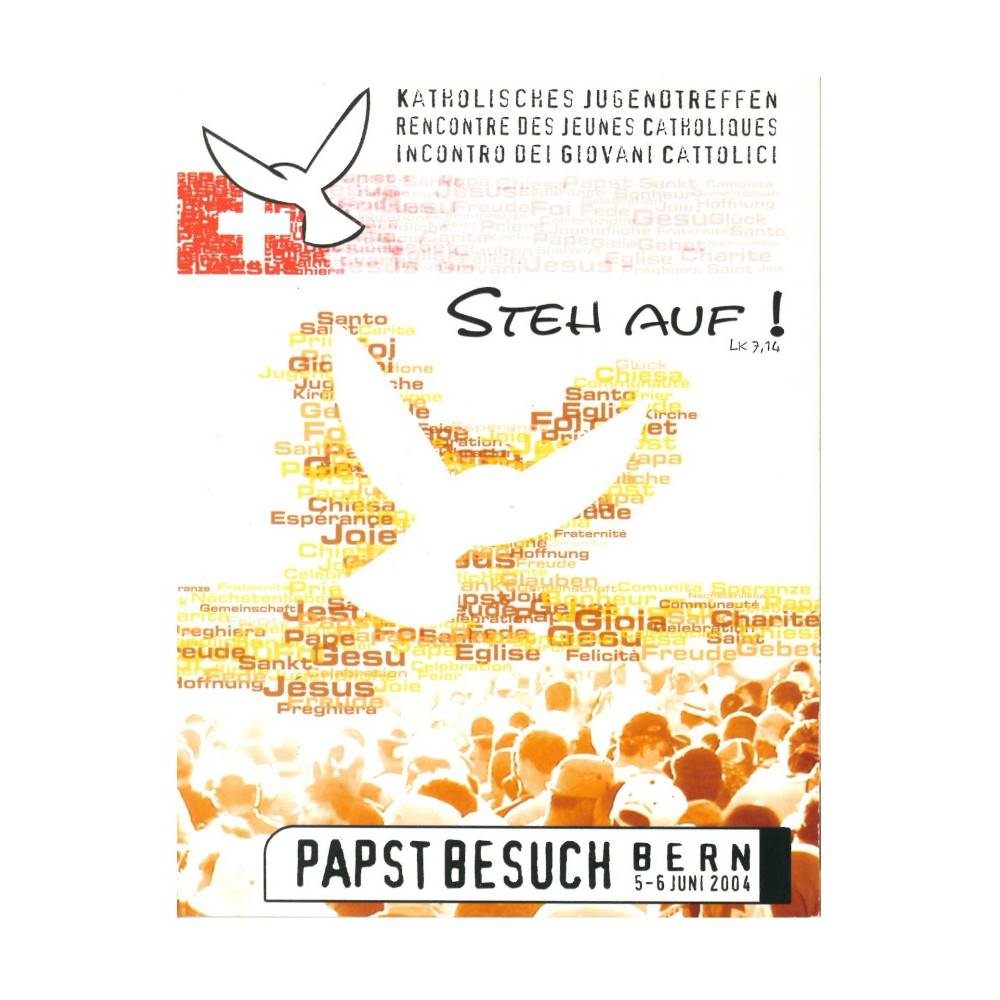 Vaticaanstad blister 5 Euro 2004 'Steh Auf'