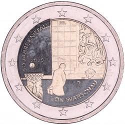 T1 Duitsland 2020 - 2 Euro 'Warschau', willekeurige letter