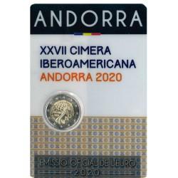 Andorra Coincard 2 Euro 2020 '27e Ibero-American Top'
