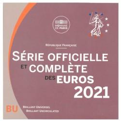 Frankrijk BU-Set 2021