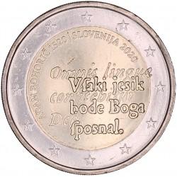 Slovenië 2 euro 2020 '500ste Geboorte Jaar Adam Bohorič'