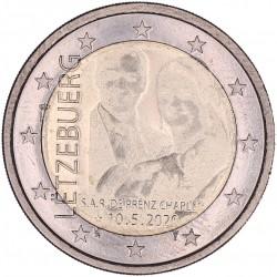 Luxemburg 2 euro 2020 'Geboorte Prins Charles'