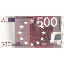 Zilveren Miniatuur Bankbiljet €500,-