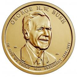 USA $1 Dollar George H.W. Bush 2020