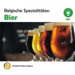 België beursset 2021 'World Money Fair Berlijn' - Belgische Spezialitäten Bier