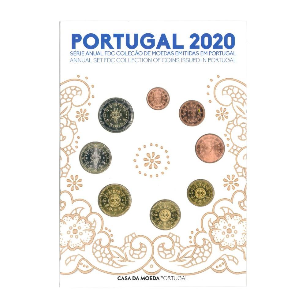 Portugal FDC Set 2020