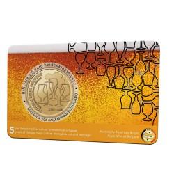 België 2½ euro 2021 '5 jaar Belgische biercultuur immaterieel erfgoed'