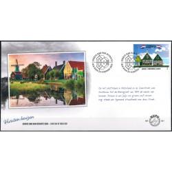 2021 Nederland FDC | Typisch Nederlands - Houten huizen