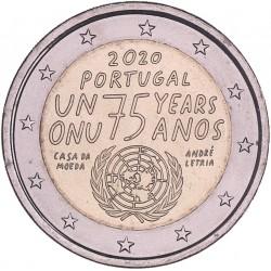 Portugal 2 euro 2020 '75 jaar Verenigde Naties'