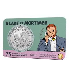 België 5 euro 2021 '75 jaar Blake & Mortimer' - Leverbaar eind maart