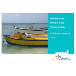 Aruba Jaarset 2012 'Visserij in Aruba'
