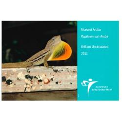 Aruba Jaarset 2011 'Reptielen van Aruba'