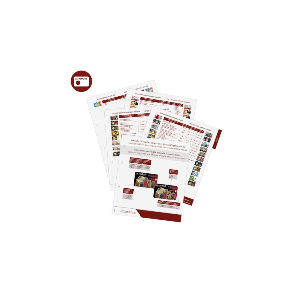 Coincard Catalogus België 2021