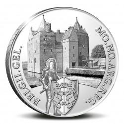 Koninkrijksmunten Nederland Zilveren dukaat 2021 'Kasteel Loevestein'