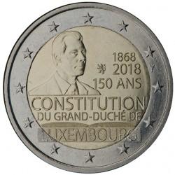Luxemburg 2 euro 2018 '150 jaar Grondwet'