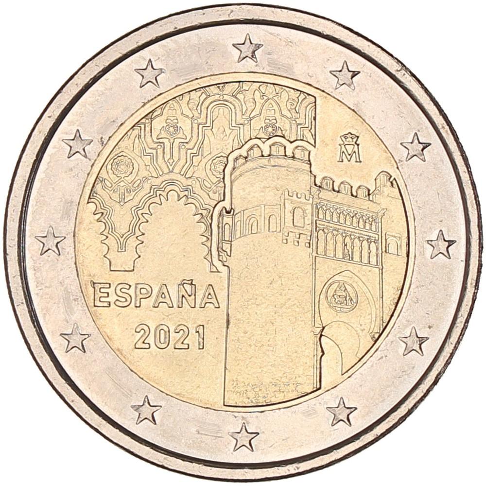 Spanje 2 euro 2021 'Unesco-Toledo'