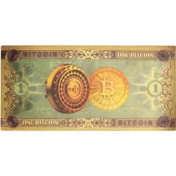 Bitcoin biljet. Direct leverbaar