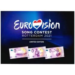 0 euro Nederland 2021 'Eurovision Song Contest Rotterdam'