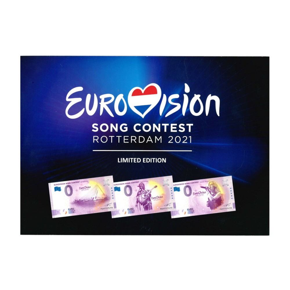 0 euro Nederland 2021 'Eurovision Song Contest Rotterdam'
