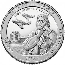 USA Quarter 2021 'Tuskegee Airmen'