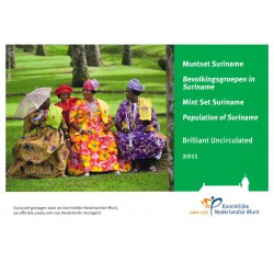Suriname Jaarset 2011 'Bevolkingsgroepen in Suriname'