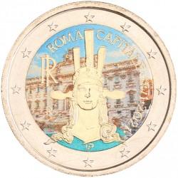 Italië 2 euro 2021 '150 jaar hoofdstad Rome' in kleur