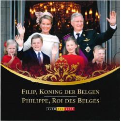 België BU-set 2014 'Filip, Koning der Belgen'
