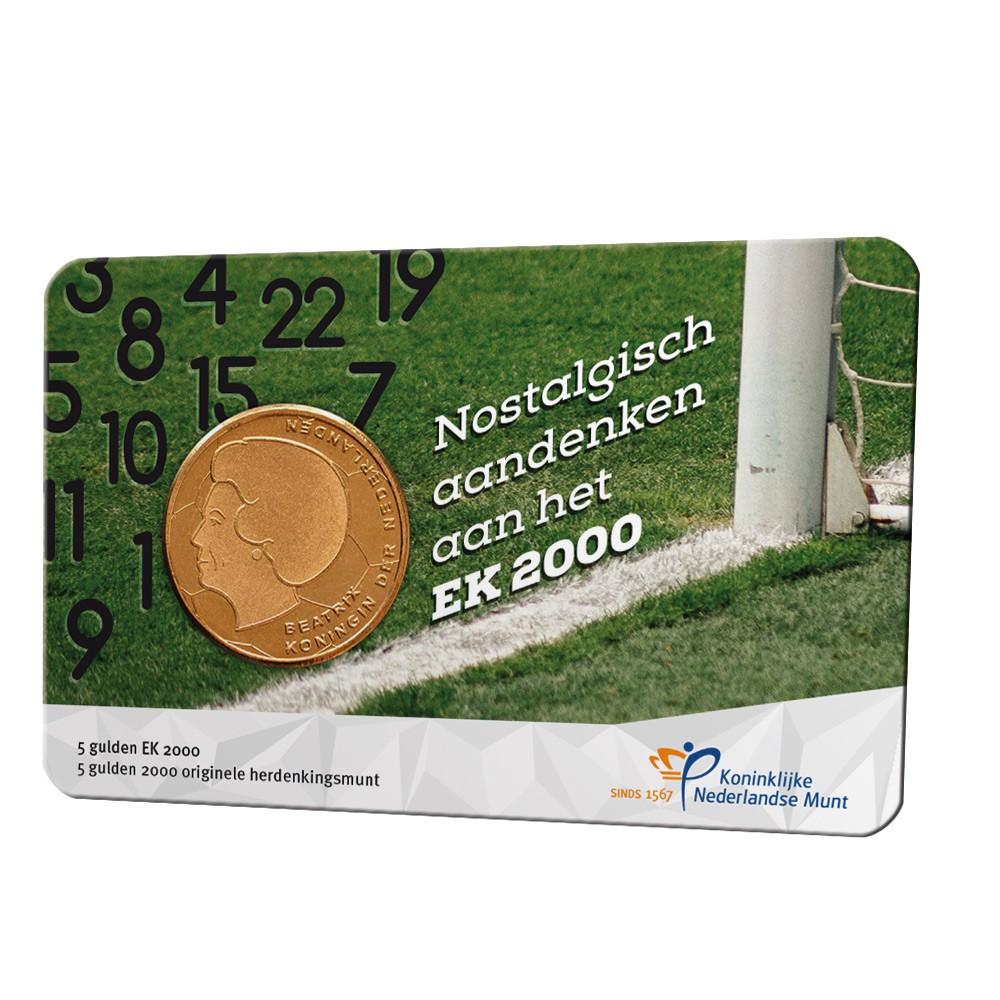 Nederland 'EK Vijfje 2000' nostalgische coincard - Max. 1 per klant