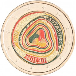 Litouwen 2 euro 2019 'Sutartines' in kleur