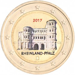 Duitsland 2 Euro 2017 'Porta Nigra' in kleur
