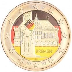 Duitsland 2 euro 2010 'Bremen' in kleur