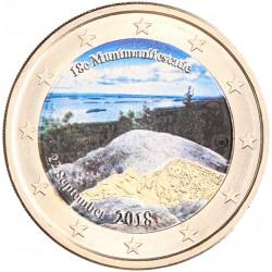 Finland 2 euro 2018 'Muntmanifestatie' in kleur