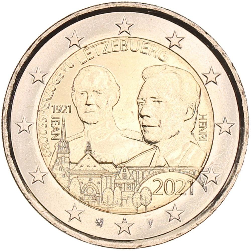 Luxemburg 2 euro 2021 '100 Jaar Jean'