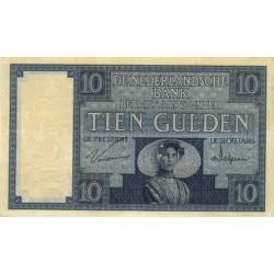 Nederland 10 Gulden 1924 I 'Zeeuws Meisje'