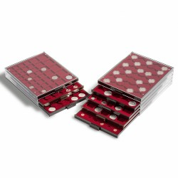 Leuchtturm MB muntenboxen voor munten zonder capsules