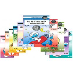 Frankrijk 10 euro serie 2020 'Smurfen' Deel 2
