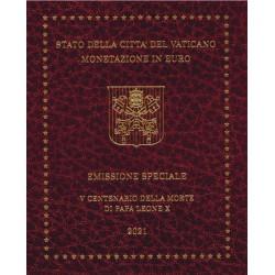 Vaticaan BU-Set 2021 inclusief 5 euro