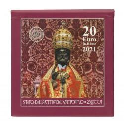 Vaticaan 20 euro 2021 'St. Pieter'
