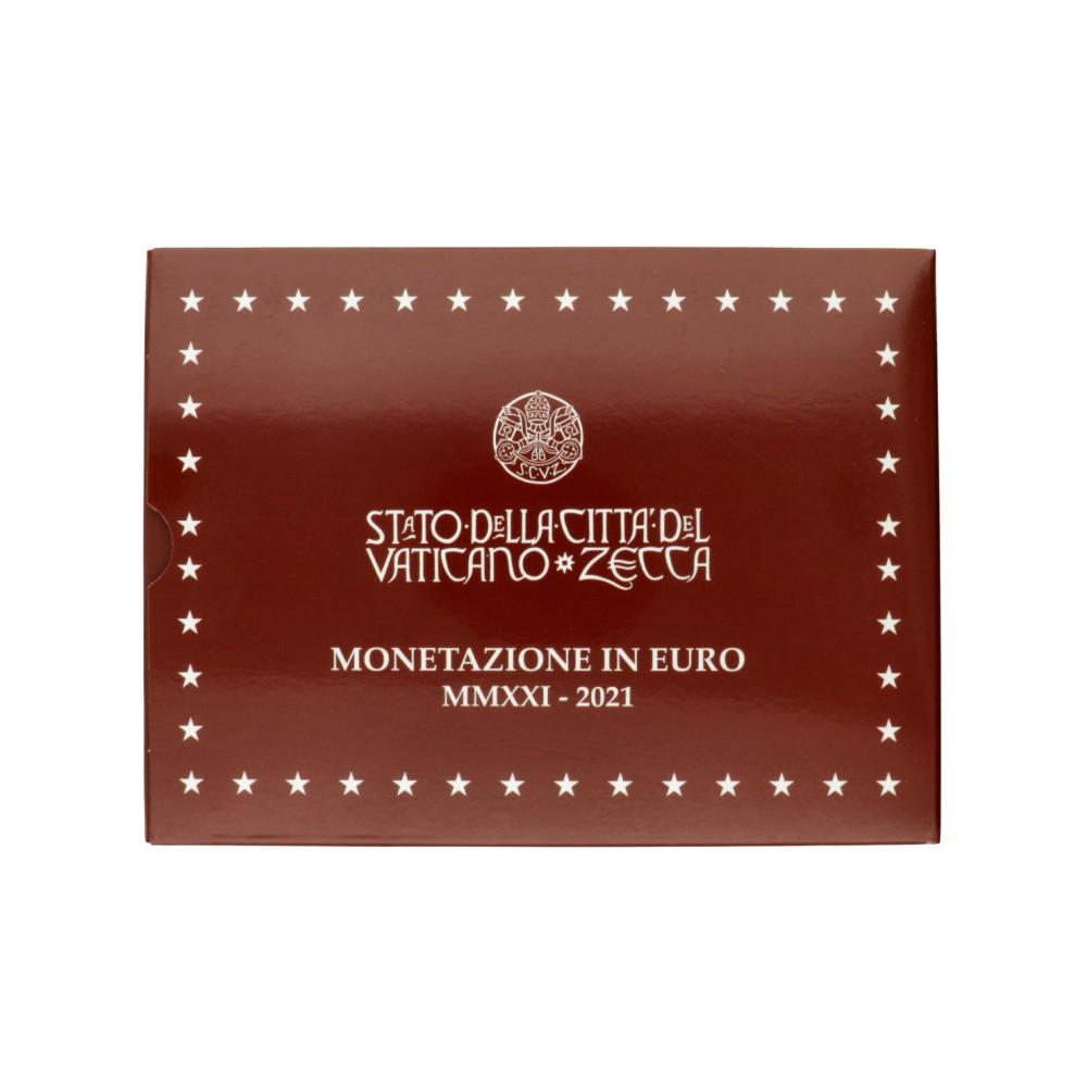 Vaticaan proofset 2021 incl. 20 euro zilver