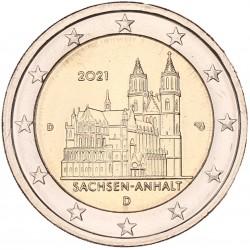 Duitsland 2 euro 2021 'Sachsen-Anhalt'
