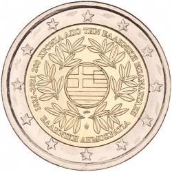 Griekenland 2 euro 2021 '200 Jaar Onafhankelijkheid'