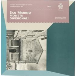 San Marino BU-set 2021 zonder 5 euro