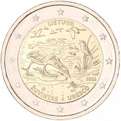 Litouwen 2 euro 2021 'Lake Zuvintas Unesco'