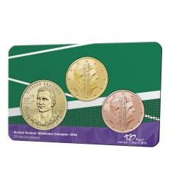 Nederland penning in coincard 2021 'Richard Krajicek' - Leverbaar juli