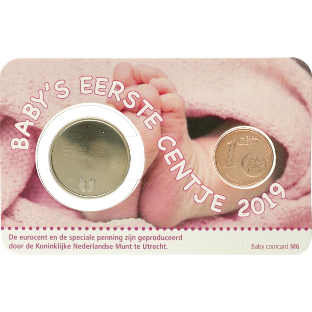Nederland Geboorte coincard 2019 - Meisje
