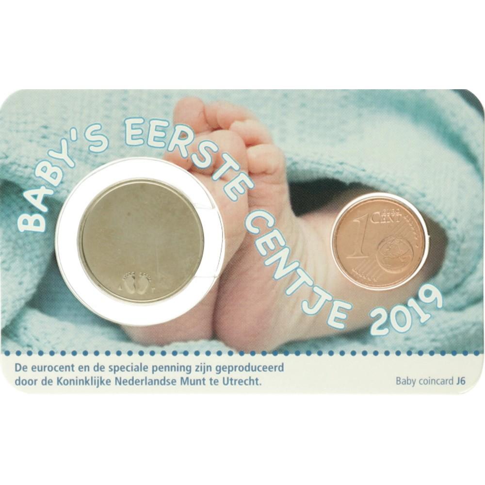 Nederland Geboorte coincard 2020 - Jongen