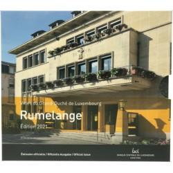 Luxemburg BU-Set 2021 incl. 2 euro '40 jaar huwelijk'