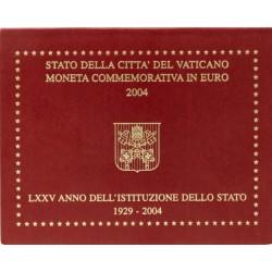 Vaticaan 2 euro 2004 in blister '75 Jaar Vaticaan'